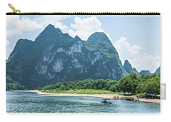Lijiang River And Karst Mountains Scenery Carry-all Pouch