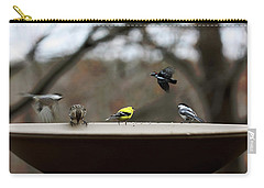 30 Seconds Carry-all Pouch by Lauren Radke