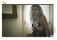 Tu M'as Promis Carry-all Pouch by Traven Milovich