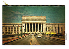 30th Street Station Traffic Carry-all Pouch by Trish Tritz