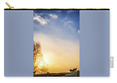 Carry-all Pouch featuring the photograph Misty Mountain Sunrise by Thomas R Fletcher