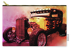 31 Model A Ford Fiery Watercolour Carry-all Pouch