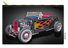 32 Ford High Boy Carry-all Pouch by Gary Warnimont