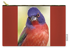 Painted Bunting Carry-all Pouch