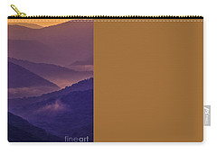 Allegheny Mountain Sunrise Two Carry-all Pouch