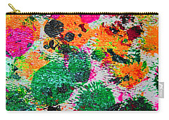 Carry-all Pouch featuring the photograph 3.5 Oil Squash 1970s by Tom Janca