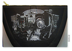 356 Porsche Engine On A Vw Cover Carry-all Pouch