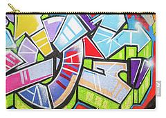 Graffiti Carry-all Pouch by Muhie Kanawati