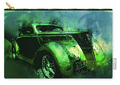37 Ford Street Rod Luv Me Green Meanie Carry-all Pouch
