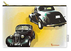 Carry-all Pouch featuring the photograph '38 Plymouth by Sadie Reneau