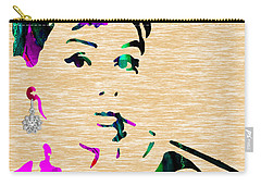 Audrey Hepburn Collection Carry-all Pouch by Marvin Blaine