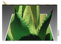 Carry-all Pouch featuring the photograph 3d Cactus by Darleen Stry