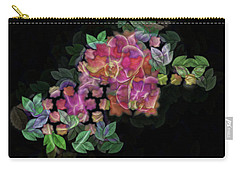 3d Orchids Carry-all Pouch