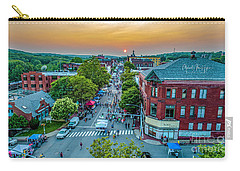 Carry-all Pouch featuring the photograph 3rd Thursday Sunset by Michael Hughes