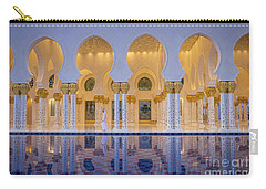 Carry-all Pouch featuring the photograph Abu Dhabi by Milena Boeva