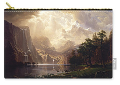 Among The Sierra Nevada, California Carry-all Pouch