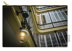 Carry-all Pouch featuring the photograph Apartment In The Heart Of Cadiz by Pablo Avanzini