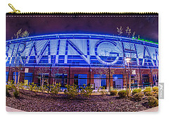 Carry-all Pouch featuring the photograph April 2015 - Birmingham Alabama Regions Field Minor League Baseb by Alex Grichenko