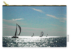 4 Boats On The Horizon Carry-all Pouch
