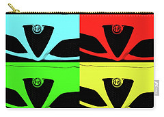 4 C Pop Carry-all Pouch by John Schneider