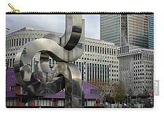 Canary Wharf Carry-all Pouch by Martin Newman
