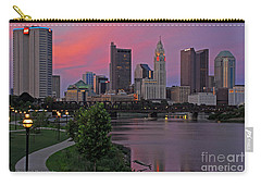 D2l37 Columbus Ohio Skyline Photo Carry-all Pouch