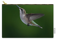 Female Ruby Throated Hummingbird Carry-all Pouch
