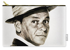 Frank Sinatra, Vintage Hollywood Legend Carry-all Pouch