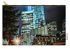 Carry-all Pouch featuring the photograph Freedom Tower by Theodore Jones