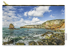Carry-all Pouch featuring the photograph Gwenfaens Pillar by Ian Mitchell