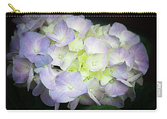 Hydrangea Carry-all Pouch by Cathy Donohoue