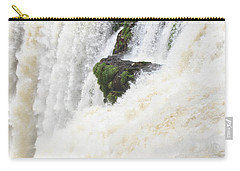 Carry-all Pouch featuring the photograph Iguazu Falls by Silvia Bruno