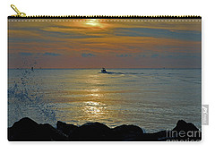 Carry-all Pouch featuring the photograph 4- Into The Day by Joseph Keane