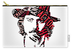 Johnny Depp Movie Titles Carry-all Pouch