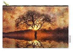 Lone Tree Carry-all Pouch by Ian Mitchell
