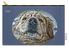 Carry-all Pouch featuring the photograph Love by Rhonda McDougall