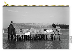 Carry-all Pouch featuring the photograph Lubec, Maine  by Trace Kittrell