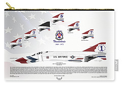 Mcdonnell Douglas F-4e Phantom II Thunderbirds Carry-all Pouch