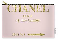 Mileage Distance Chanel Paris Carry-all Pouch