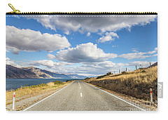 On  The Road In New Zealand Carry-all Pouch