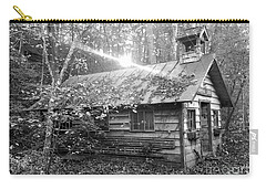 One Room School House Gnawbone Indiana Carry-all Pouch by Scott D Van Osdol
