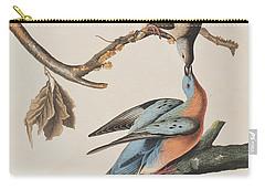 Passenger Pigeon Carry-all Pouch by John James Audubon
