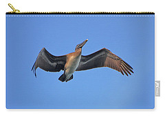 Carry-all Pouch featuring the photograph 4- Pelican by Joseph Keane