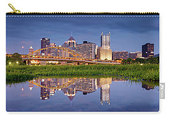 Carry-all Pouch featuring the photograph Pittsburgh North Shore  by Emmanuel Panagiotakis