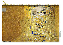 Portrait Of Adele Bloch-bauer I Carry-all Pouch by Gustav Klimt