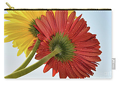 Red And Yellow Carry-all Pouch by Elvira Ladocki