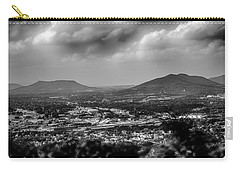 Roanoke City As Seen From Mill Mountain Star At Dusk In Virginia Carry-all Pouch