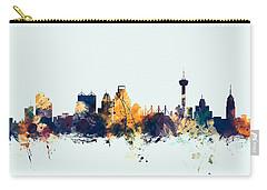 San Antonio Texas Skyline Carry-all Pouch