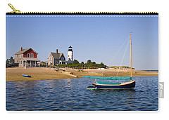Sandy Neck Lighthouse Carry-all Pouch by Charles Harden