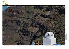 Santorini, Greece Carry-all Pouch